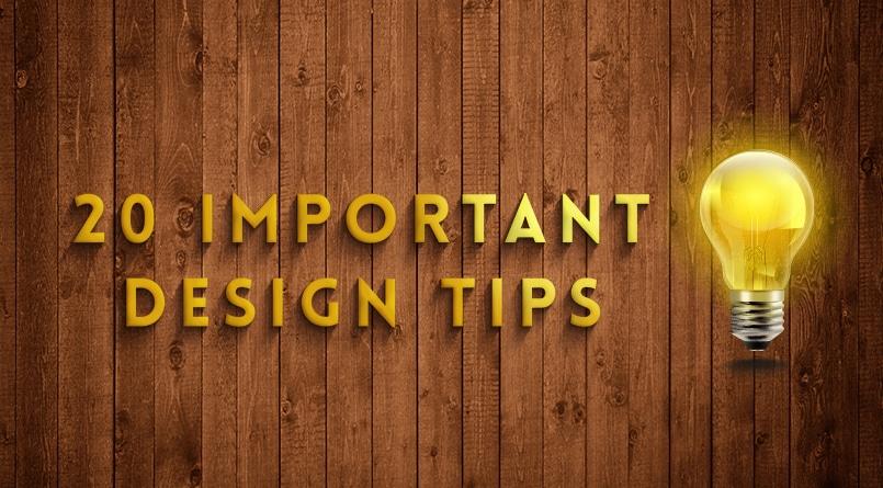 20-important-design-tips